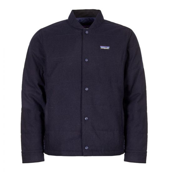 Patagonia Recycled Wool Bomber Jacket 50815 CNY In Navy