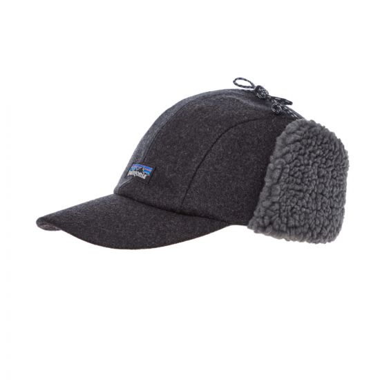 Patagonia Wool Ear Flap Cap 22325|FGE In Forge Grey At Aphrodite Clothing.