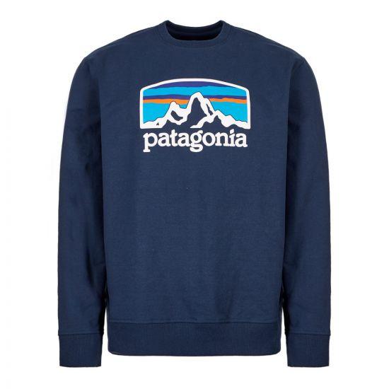 Patagonia Sweatshirt Fitz Roy | 39586 CNY Navy