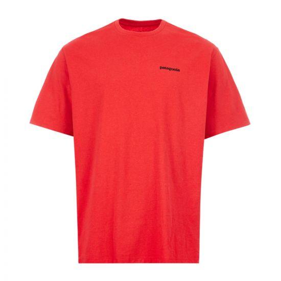 Patagonia T-Shirt Logo Responsible - Red 21864CP -5