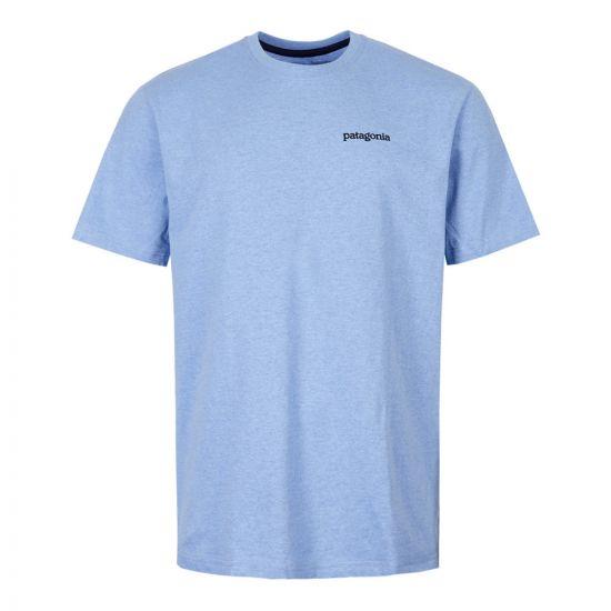 T-Shirt Fitz Roy Horizons - Wilder Blue