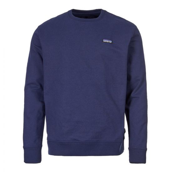 Patagonia P-6 Label Uprisal Sweatshirt 39543 CNY In Classic Navy