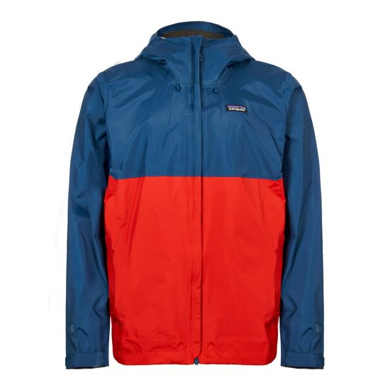 Patagonia Torrentshell Jacket 83802 BSFE Blue/Red