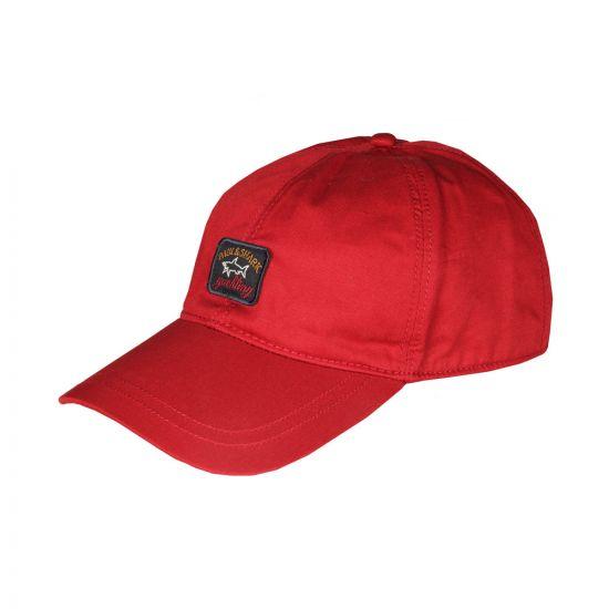 Paul & Shark Cap | 116P7102721 Red