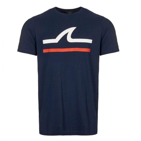 Paul & Shark T-shirt | E19P1145 013 Navy