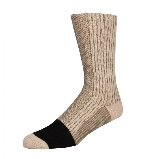 Paul Smith Ribbed Wool-Cashmere Socks in Beige