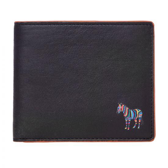 Paul Smith Accessories Bi-fold Wallet Zebra - Black 21333CP -1