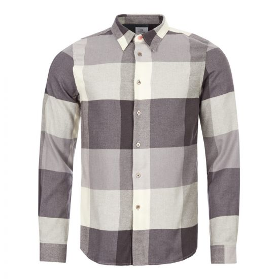 Paul Smith Shirt M2R|149T|A20664|79 In Black And White Check At Aphrodite Clothing