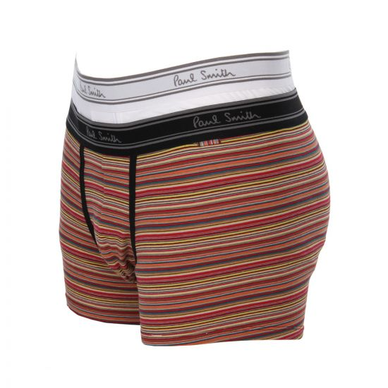 Paul Smith Trunk Set 2 Pack in White