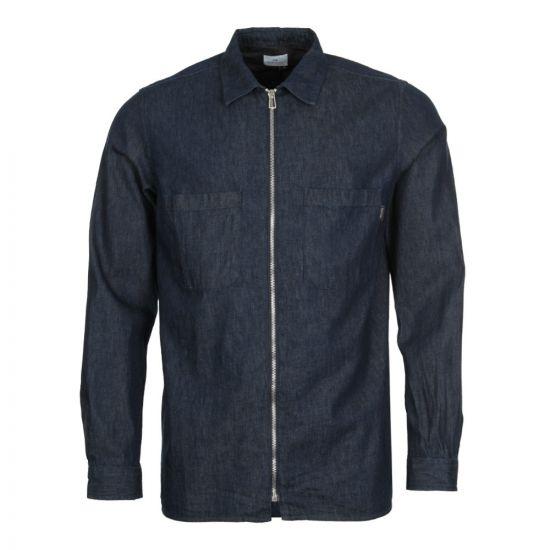 Paul Smith Zip Shirt M2R 2825 A200044 R Denim
