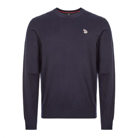 Paul Smith Knitted Sweatshirt M2R|458T|A20720|49 In Navy At Aprodite1994