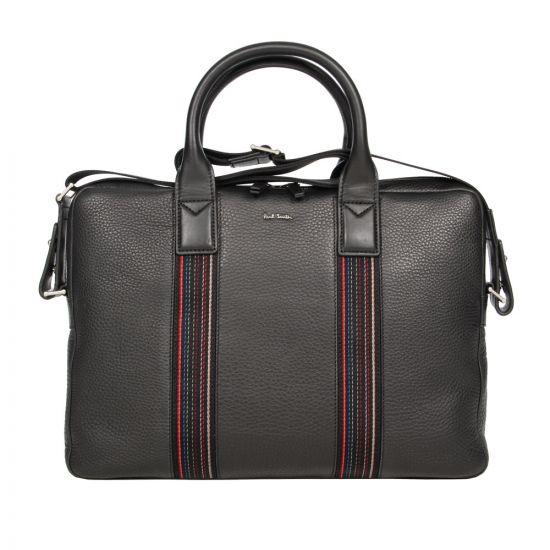 Paul Smith Slim Folio Business Bag in Black
