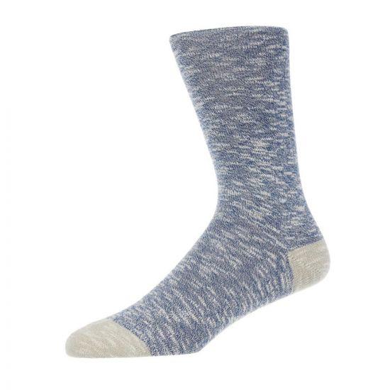 Paul Smith Accessories Socks – Blue Marl 21473CP -3