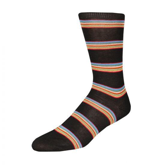 Paul Smith Multi Block Socks AUPC 800E F456 79 Black