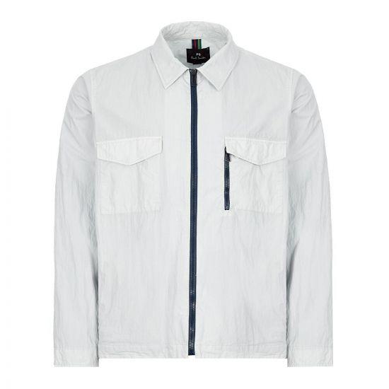 paul smith overshirt M2R 963T A20845 40 light blue