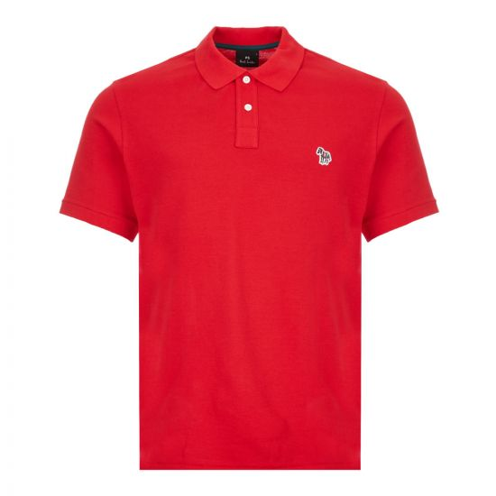 Paul Smith Polo Shirt Zebra | M2R 183KZ E20067 24 Red