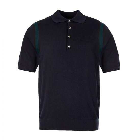 paul smith polo shirt M2R 420T A20643 49 navy