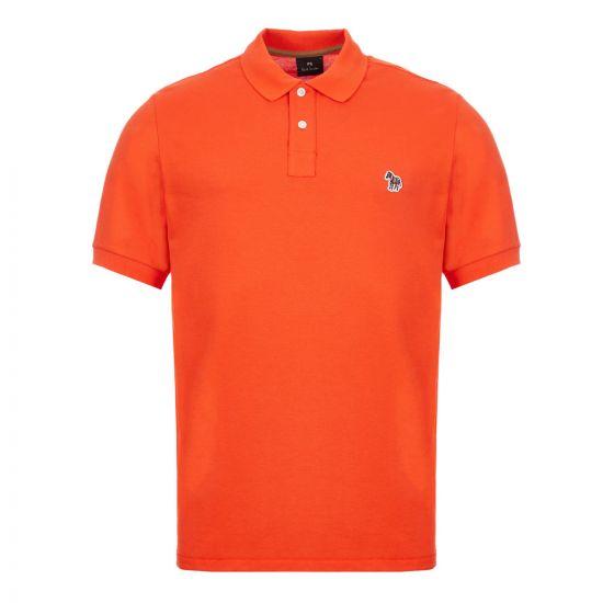 Paul Smith Polo Shirt Zebra – Orange 21624CP -1