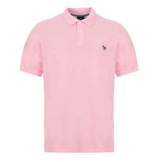 Paul Smith Polo Shirt Zebra – Pink 21625CP -1