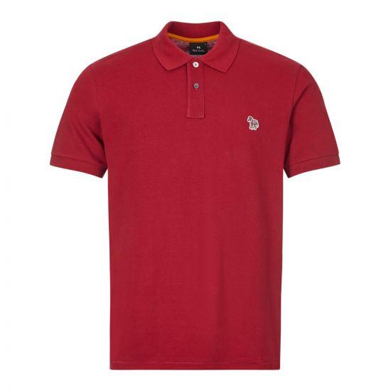 Paul Smith Polo Shirt | M2R 183KZ E20067 29 Dark Red