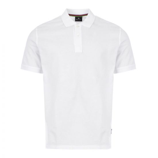 Paul Smith Polo Shirt - White 21280CP -1