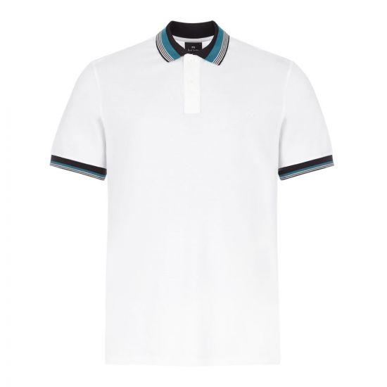 Paul Smith Polo Shirt | M2R 183KE E20942 01 White / Stripe