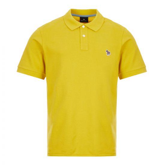 Paul Smith Zebra Polo Shirt | M2R 183KZ E20067 12 Mustard