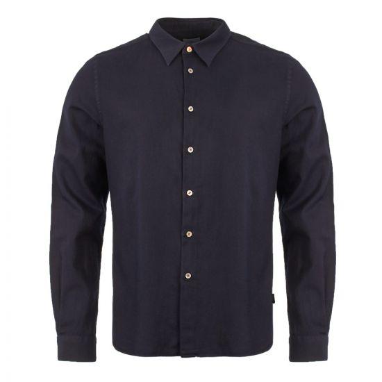 paul smith long sleeve shirt M2R 149T A20210 49 navy