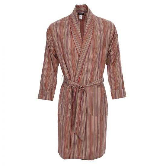 Paul Smith Dressing Gown in Signature Stripe