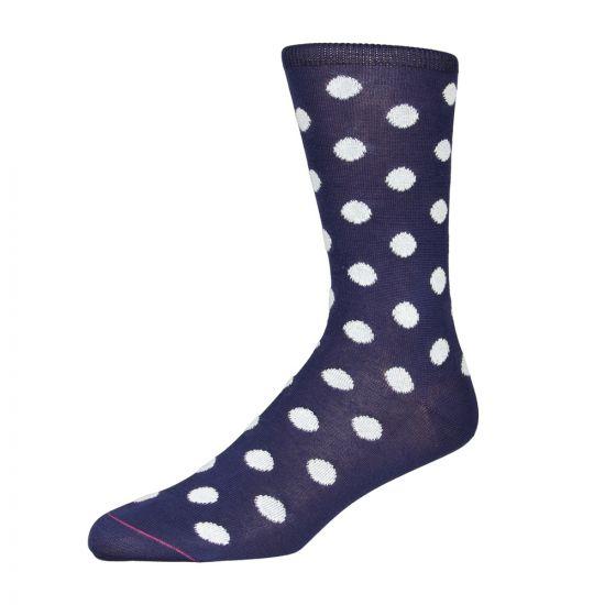 Paul Smith Polka Dot Socks in Navy