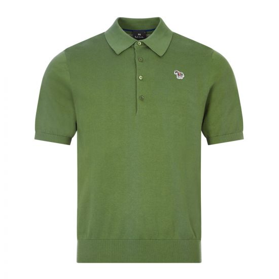 Paul Smith Zebra Polo Shirt |M2R 130U E21002 34 Green | Aphrodite