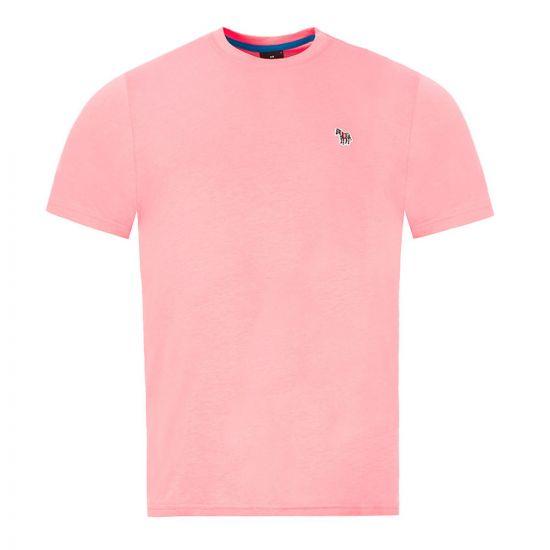 Paul Smith Zebra Logo T-Shirt - Pink  21472CP -4