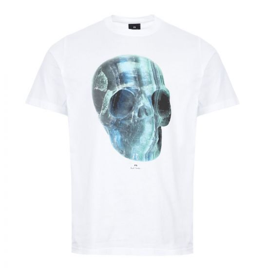 Paul Smith T-Shirt Skull | M2R 011R AP1773 01 White