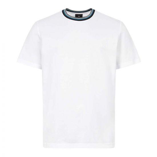 Paul Smith T Shirt | M2R 011RE E20942 01 White / Stripe