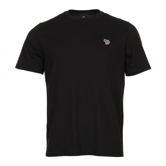 Paul Smith Zebra Logo T-Shirt PUPD-011R-ZEBRA-79 Black