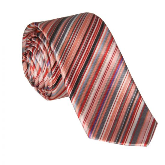 Paul Smith Accessories Tie - Striped Pink