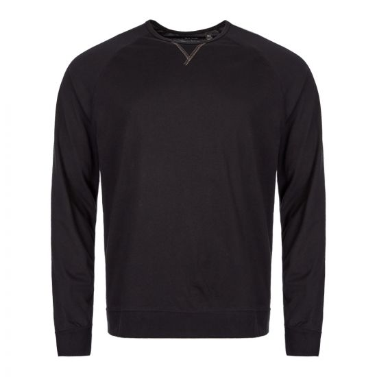 Paul Smith Sleepwear Long Sleeve T-Shirt  M1A 2990 AU278 79 Black