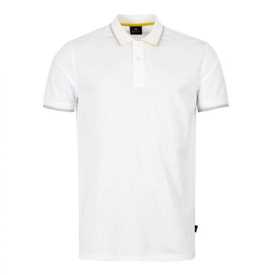paul smith polo shirt M2R 151LT C20069 01 white
