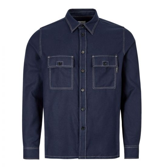 Paul Smith Shirt | M2R 157T A20683 49 Navy