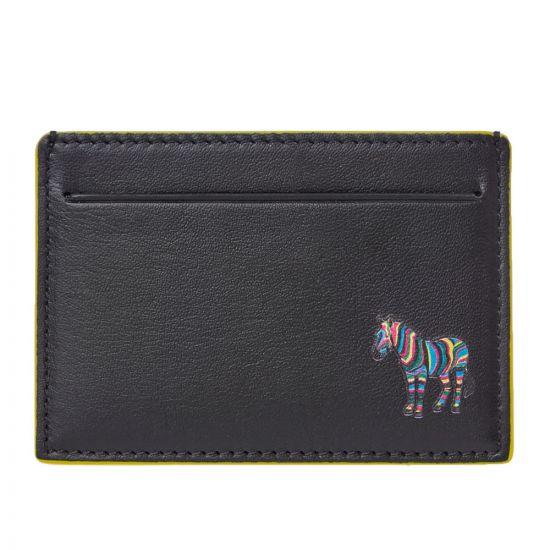 Paul Smith Card Holder Zebra | M2A 5065 AZEBRA 78 Black