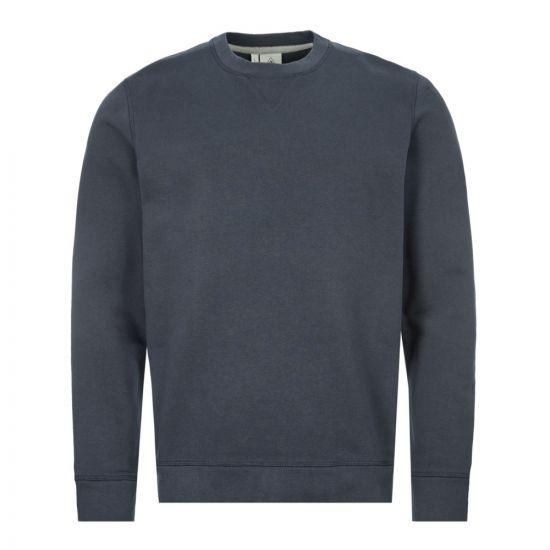 pyrenex sweatshirt bazin | HMN013 navy