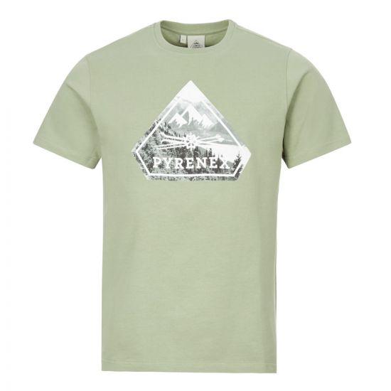 Pyrenex T-Shirt   HMN010P3123M Green