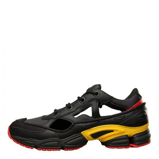 adidas x Raf Simons Replicant Ozweego 'Belgium Edition' Sneakers F34234 Black/Red/Yellow