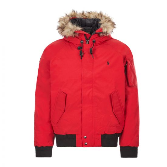 Ralph Lauren Bomber Jacket | 710756920 001 Red