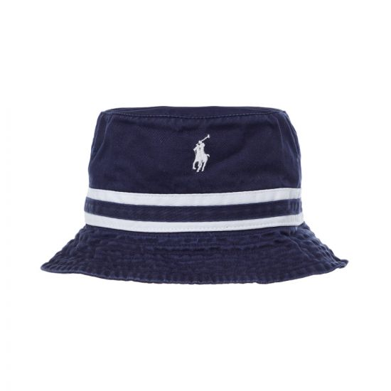 Ralph Lauren Bucket Hat 710761927 001 Navy