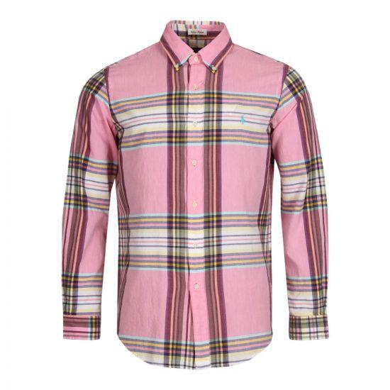 Ralph Lauren Check Shirt in Pink Multi