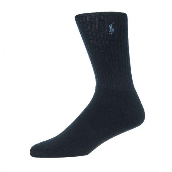 Ralph Lauren 3 Pack Socks   449655211 001 Navy / Grey / Black