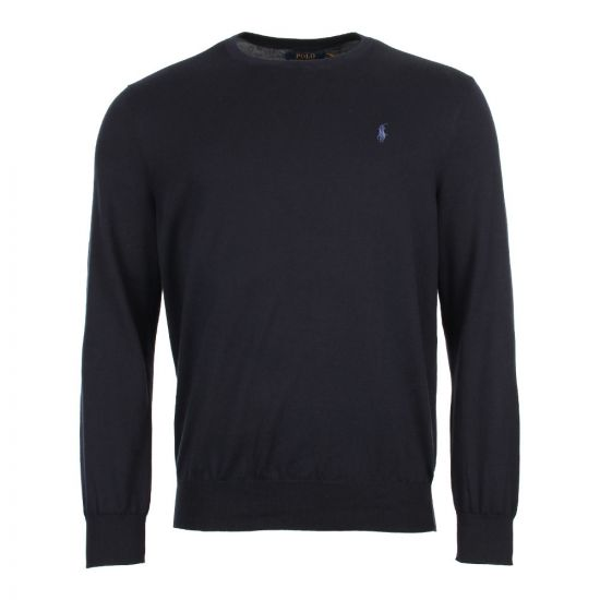 Ralph Lauren Knitted Sweater 710683940 Navy