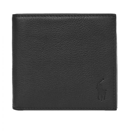 Ralph Lauren Billfold Wallet | 405526127 002 Pebbled Black