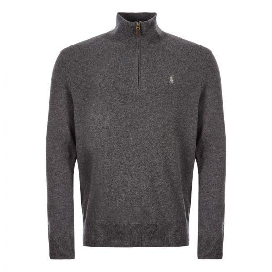 Ralph Lauren Half Zip Sweater | 710723053 003 Grey
